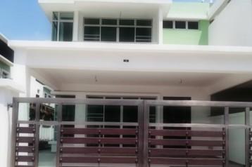 -Double storey cluster@ Kempas utama