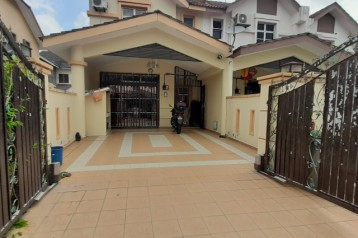 DOUBLE STOREY END LOT