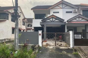 DOUBLE STOREY END LOT HOUSE FOR SALE @ TAMAN BUKIT MEWAH