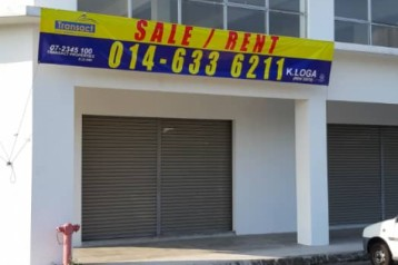 FOR RENT :  BRAND NEW 3 STOREY CORNER SHOPLOT @ JALAN RAMBAI, KOTA MASAI