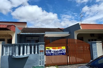 Single storey end lot, Jalan emas 2 Taman Sri Skudai